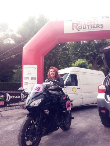 Aurélie Rabeau (Lilie) - Le Rallye du Dourdou
